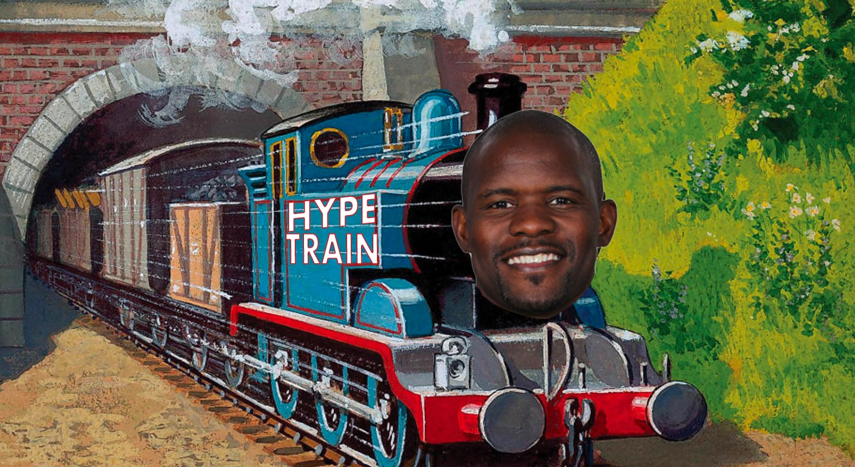 All aboard the hype train.